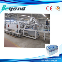 Beyond Linear type high speed bottle film shrink wrapping machine
