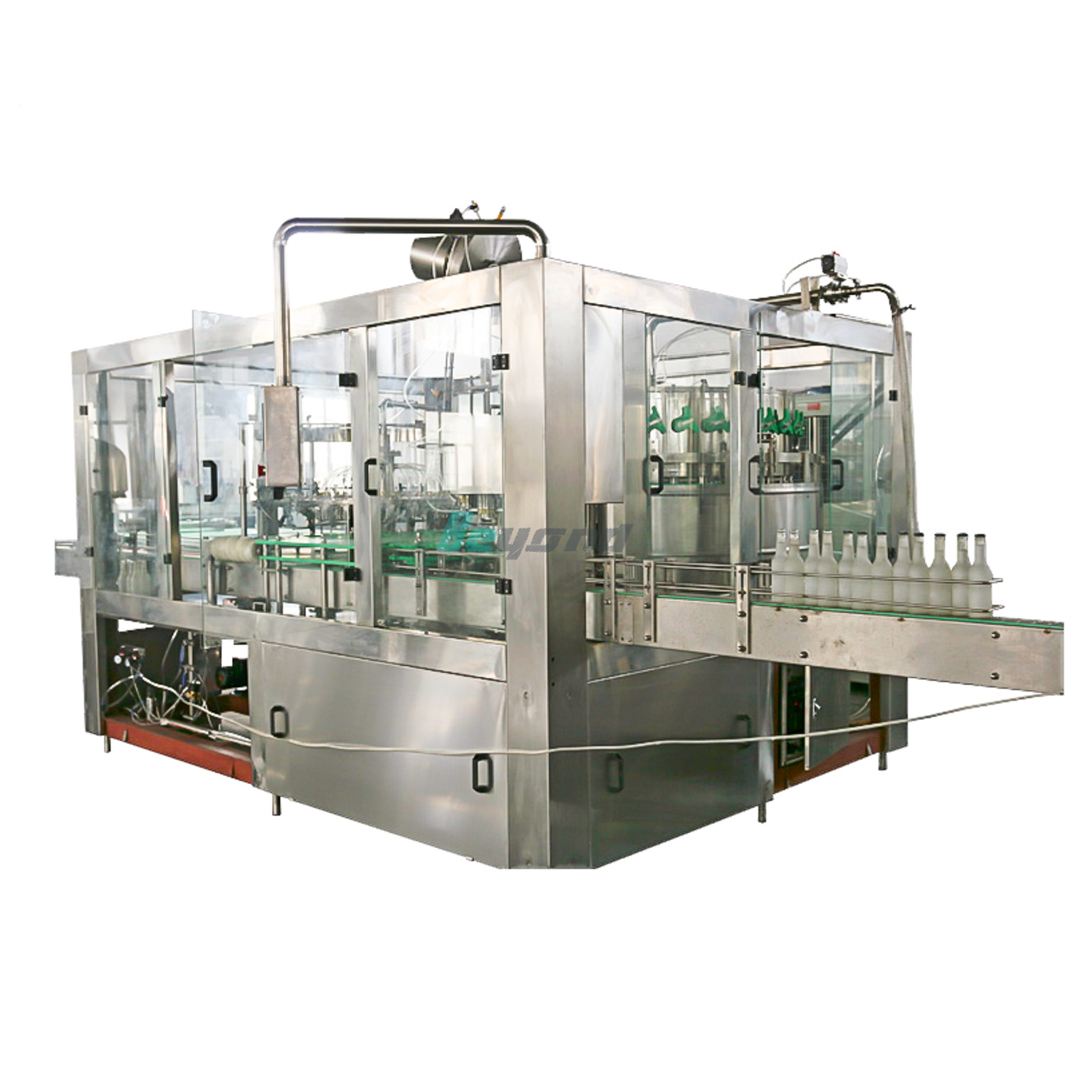 Beyond Pure Water Bottling Machine for Glass Bottle BCGF24-24-8