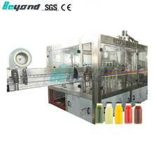 Beyond 3-in-1 24 heads Hot Juice Bottling Machine