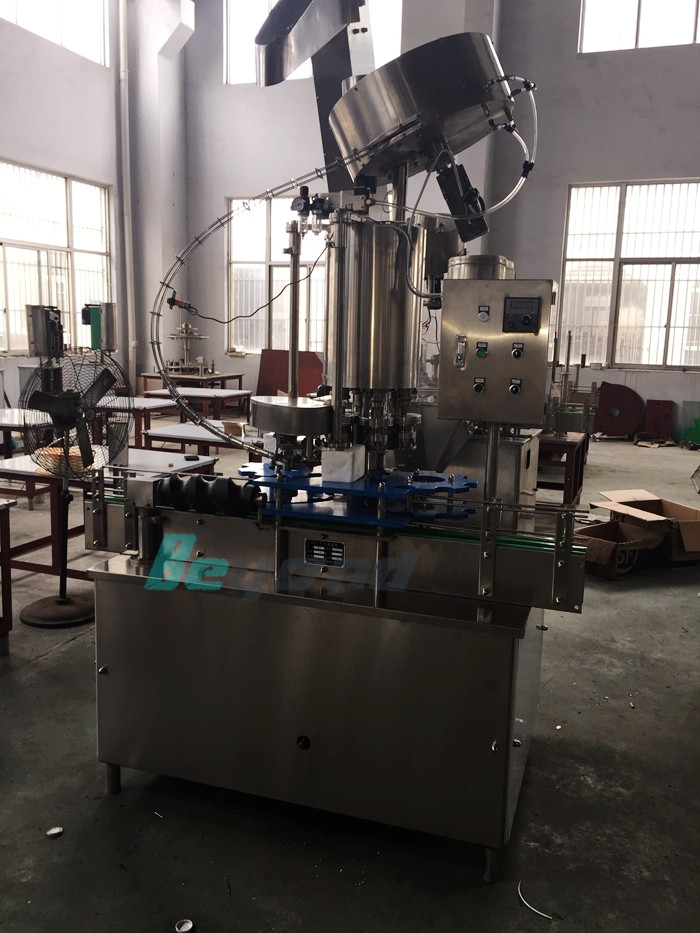 glass bottle capping machine (metal cap)