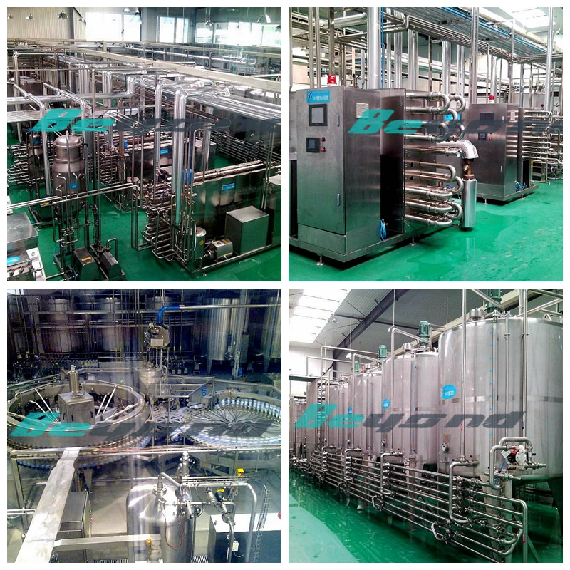 Aseptic cold filling production line
